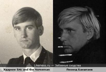 Барабанщик гаражной американской группы 60-х напомнил актёра Леонида Бакштаева