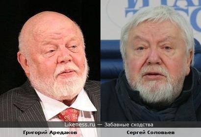 Актер Григорий Аредаков немного напомнил Сергея Соловьева