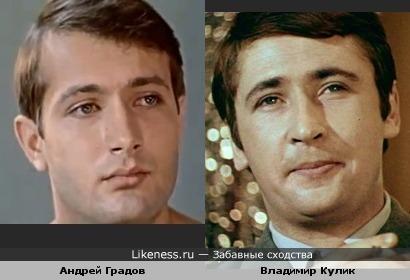 Андрей Градов и Владимир Кулик немного похожи