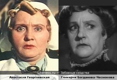 ХарАктерные актрисы