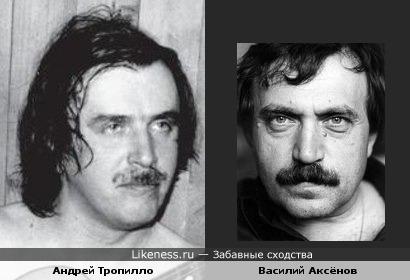 Андрей Тропилло напомнил на этой фотографии Василия Аксёнова