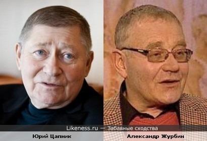 Юрий Цапник отдалённо напомнил Александра Журбина