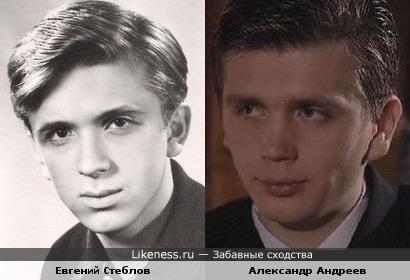 Александр Андреев похож на Стеблова