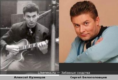 Джазовый гитарист Алексей Кузнецов в молодости напомнил Сергея Белоголовцева