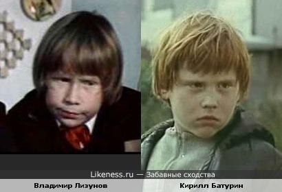 Соперники главных героев детских советских фильмов похожи