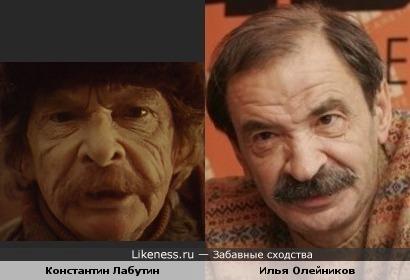 Константин Лабутин напомнил Илью Олейникова