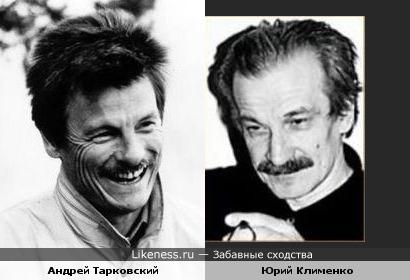 Кинооператор Юрий Клименко немного напоминает Тарковского