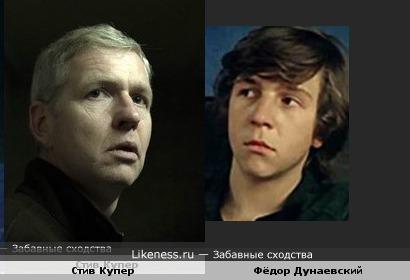 Стив Купер напомнил Фёдора Дунаевского
