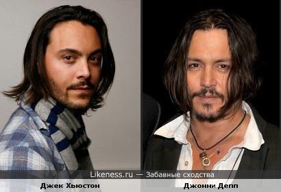 "молодой актер Джек Хьюстон похож на ""О, Великого, Джонни Деппа"" =))"