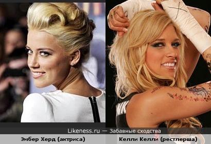Две блондинки. Две красотки. Кто краше?))