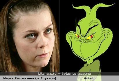 Мария Рассказова и Grinch