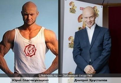 Дмитрий Хрусталёв немного подкачался