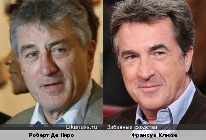 Франсуа Клюзе похож на Роберта Де Ниро