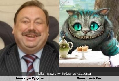 Геннадий Гудков и Чеширский Кот против красного премьера