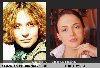 актрисы чем то похожи