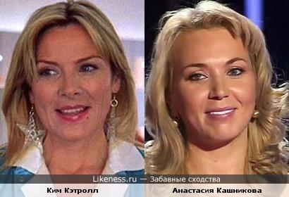 """Участница шоу """"Голос"""" Анастасия Кашникова похожа на Ким Кэтролл"""