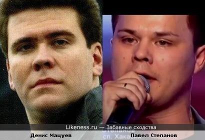 Денис Мацуев и Павел Степанов