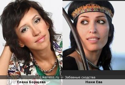 "Нани Ева (""Голос"") похожа на Елену Борщеву"