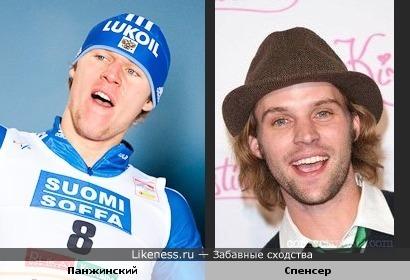 Медалдист Олимпиады, лыжник Александр Панжинский похож на Джесси Спенсера (доктор Чейз)