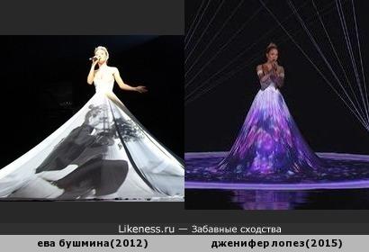 похожие платья
