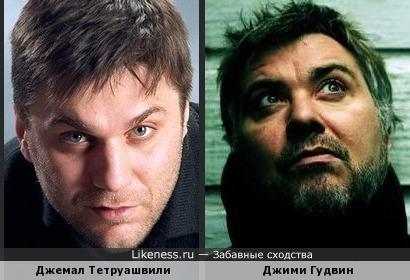 Актер Джемал Тетруашвили похож на вокалиста Doves
