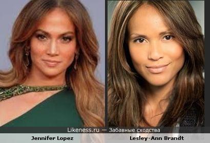 Jennifer Lopez и Lesley-Ann Brandt