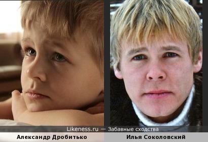 Саша Дробитько похож на Илью Соколовского