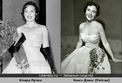 Клара Лучко показалась похожей на Нэнси Дэвис