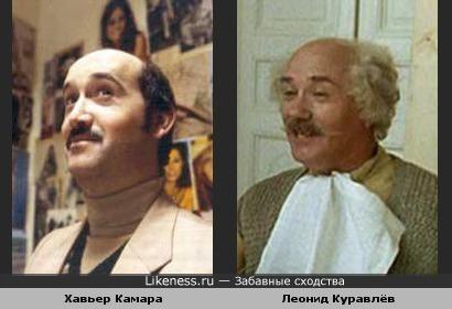Хавьер Камара показался похожим на Леонида Куравлёва