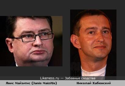 Генеральный прокурор Латвии Янис Майзитис похож на сильно располневшего Хабенского (реальное фото)