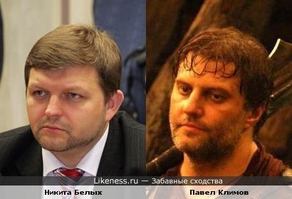 Губернатор Кировской области Никита Белых близнец Павла Климова