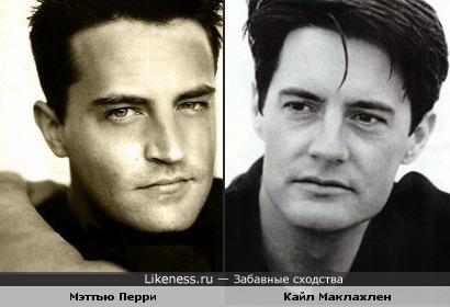 """Я всегда думал, что агента Дейла Купера в """"Твин Пикс""""е и Чендлера Бинга в """"Друзья""""х играет один и тот же актер."""