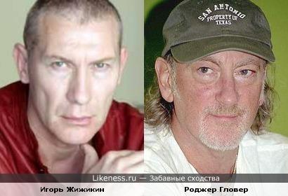 Игорь Жижикин, если его голову приплюснуть тисками, может стать басистом группы Deep Purple