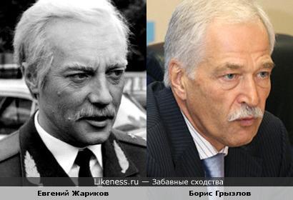 Евгений Жариков в образе напоминает экс-спикера Грызлова