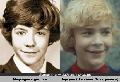 """В """"Приключения Электроника"""" играл Медведев?"""