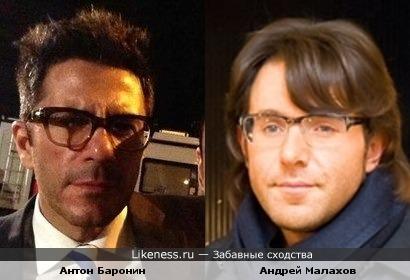 Пианист Биг Бэнда и квартета Игоря Бутмана Антон Баронин похож на Андрея Малахова