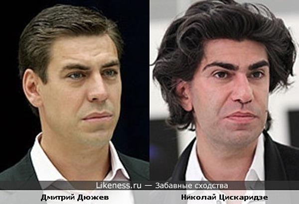 Дмитрий Дюжев и Николай Цискаридзе
