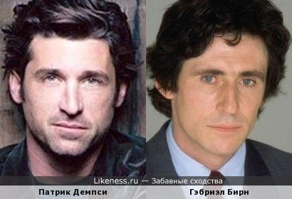 Патрик Демпси и Гэбриэл Бирн