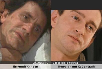 Когда Евгений Князев хмурится, он напоминает Константина Хабенского