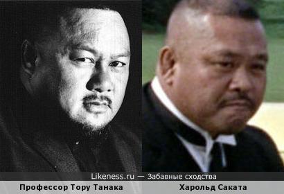 """Я всегда думал, что в """"Голдфингер""""е играл Профессор Тору Танака"""