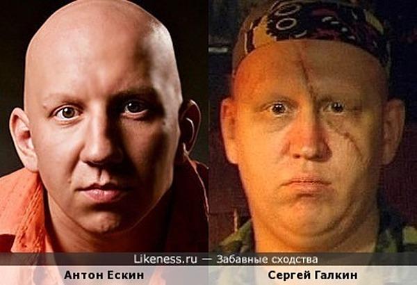 Антон Ескин похож на Сергея Галкина