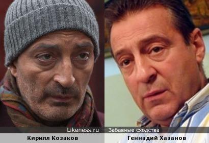 Кирилл Козаков и Геннадий Хазанов