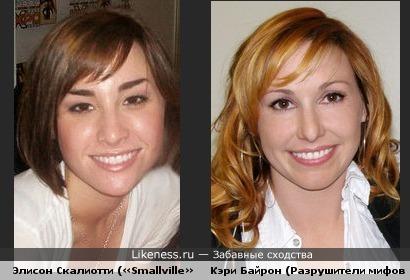 Элисон Скалиотти похожа на Кэри Байрон