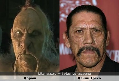 Игорь Жижикин в образе напомнил Денни Трехо