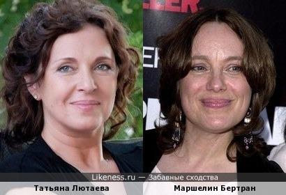 К моему посту ниже: мама Агнии - Татьяна Лютаева и мама Анджелины - Маршелин тоже чем-то похожи:)