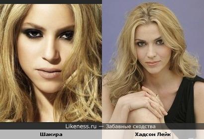 Шакира и Хадсон Лейк