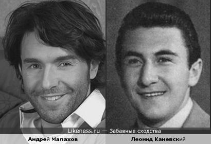 Андрей Малахов похож на Леонида Каневского