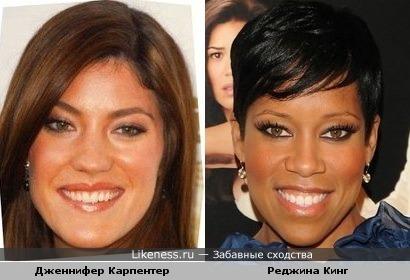 Дженнифер Карпентер похожа на Реджину Кинг