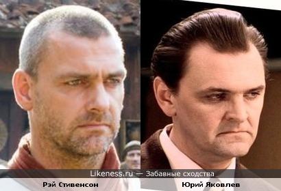 Рэй Стивенсон похож на Юрия Яковлева