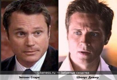 """Энтони Старк и Шимус Девер похожи (и даже снимались вместе в одной серии 5 сезона """"Касла"""")"""